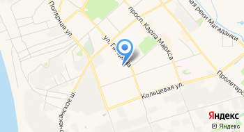 ОП ОМВД России по г. Магадану, дислокация в п. Сокол на карте