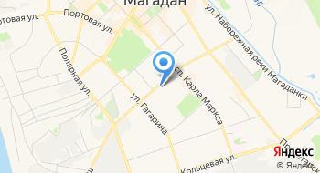 Магаданский областной суд на карте