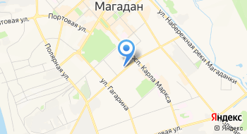 Колледж искусств управления культуры администрации Магаданской области на карте