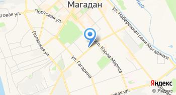 Магаданский колледж искусств на карте
