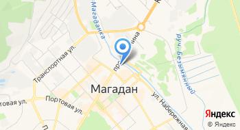 Государственная инспекция труда в Магаданской области на карте