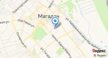 Служба Технического Контроля Города Магадана на карте