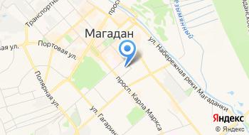Отдел Государственной Фельдъегерской Службы России в г. Магадане на карте