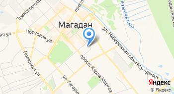 Магаданское областное государственное автономное учреждение Многофункциональный центр предоставления государственных и муниципальных услуг на карте