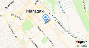 Управление Судебного Департамента в Магаданской области на карте