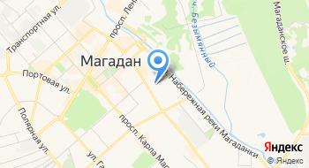 УФК по Магаданской области на карте