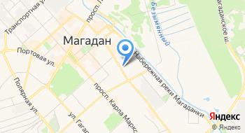 Межрайонная ИФНС России №1 по Магаданской области (г. Магадан) на карте