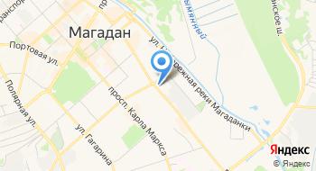 Магаданский Док на карте