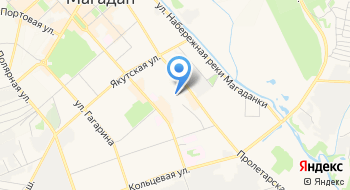 Магаданский Кожевенно-Обувной комбинат ГП на карте