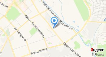 Метрал на карте