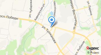 Ресторан гостиницы Петропавловск на карте