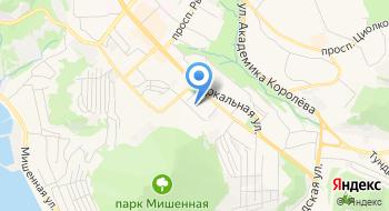 Детская инфекционная больница на карте