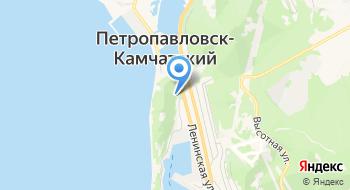 Часовня в Петропавловске-Камчатском на карте