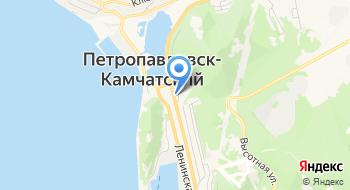 Камчатэнерго на карте