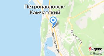 Отделение почтовой связи Петропавловск-Камчатский 683001 на карте