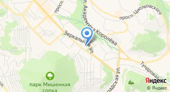 Собор Троицы Живоначальной в Петропавловске-Камчатском на карте