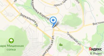 Нотариус Петропавловска-Камчатского на карте