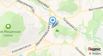 Отделение ПФР по Камчатскому краю на карте
