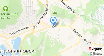 Камчатский государственный университет им. В.Беринга на карте