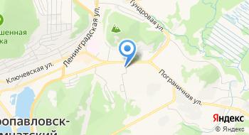Управление Автомобильных Дорог Камчатского края на карте