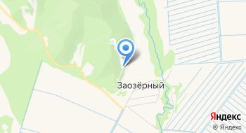 Горнолыжная база Заозерка на карте