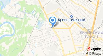 Берестейский пекарь на карте