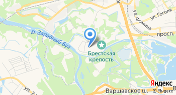 Свято-николаевская Церковь в Крепости Брестской Епархии Белорусской Православной Церкви на карте