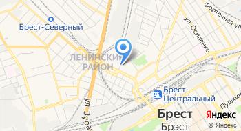 Диспансер Наркологический Брестский Областной УЗ на карте