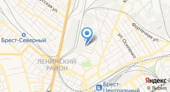 Белпромимпэкс, Брестский филиал на карте