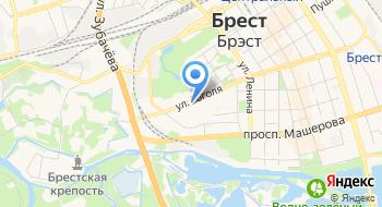 Брестское областное управление Департамента охраны МВД Республики Беларусь на карте