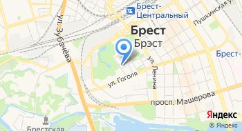 Инспекция Министерства по Налогам и Сборам РБ по Брестской области на карте