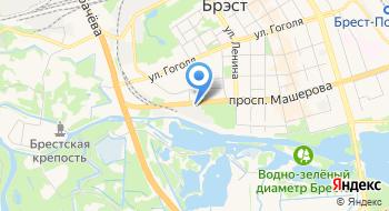 Брестские Тепловые Сети филиал РУП Брестэнерго на карте