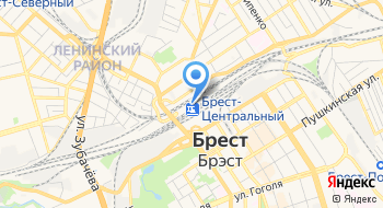 Ресторан Вокзала станции Брест центральный на карте