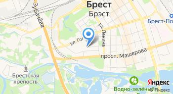 Консульство Украины в Бресте на карте