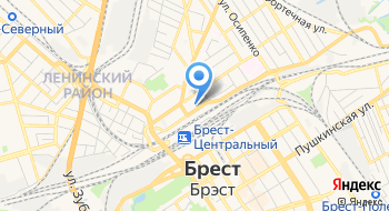 Брестская Дистанция Защитных Лесонасаждений РУП Брестское отделение Белорусской Ж/д на карте