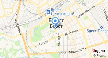 Брестский Областной Исполнительный Комитет на карте