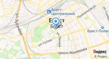 Главное управление идеологической работы, культуры и по делам молодежи Брестского Облисполкома на карте
