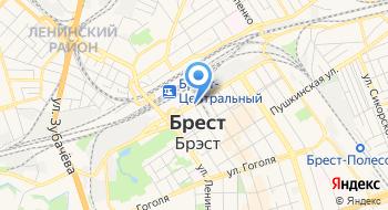 Гостиница Молодежная на карте
