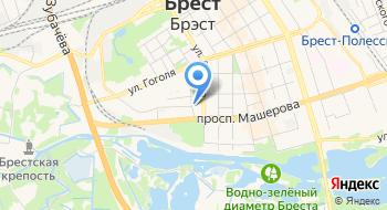 УВД Брестского Областного Исполнительного Комитета на карте