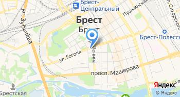 Белорусская Торгово-промышленная Палата УП Брестское отделение на карте