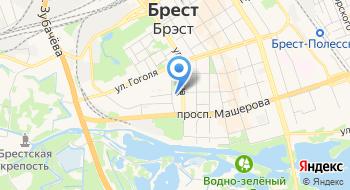 Поликлиника № 1 Городская Брестская УЗ на карте