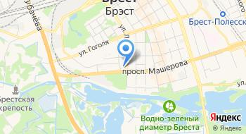 Главное Статистическое управление Брестской области на карте