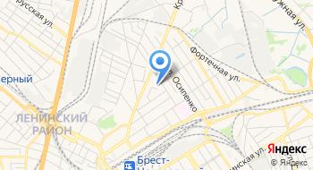 Оздоровительный центр филиал РУП Брестское отделение Белорусской Ж/д на карте