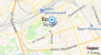 Пресса магазин № 1 РУП Брестоблсоюзпечать на карте