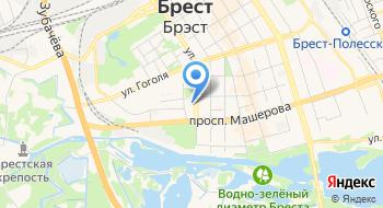 Музыкальная школа № 1 ГУО на карте
