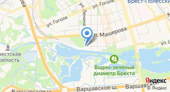 Речной Порт Брест филиал РТУП Белорусское Речное Пароходство на карте