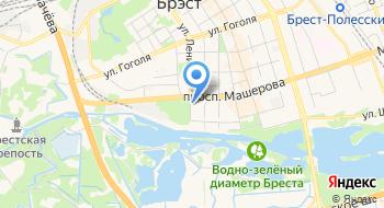 Военный Комиссариат Г Бреста и Брестского района на карте