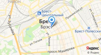 Генеральное Консульство Российской Федерации в Бресте на карте