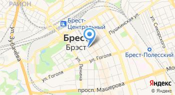 Брестский Городской центр Архитектуры и Строительства КПСУП на карте