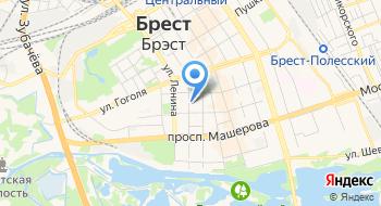 Поликлиника Стоматологическая Детская Городская Брестская УЗ филиал № 1 на карте